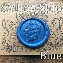 Load image into Gallery viewer, Sailing Ship Wax Seals Props Deven Rue