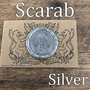 Scarab Wax Seals Props Deven Rue
