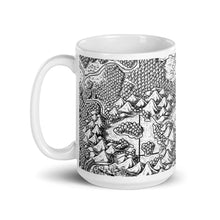 Load image into Gallery viewer, Seaside Bonfire Map Mug Mug Deven Rue