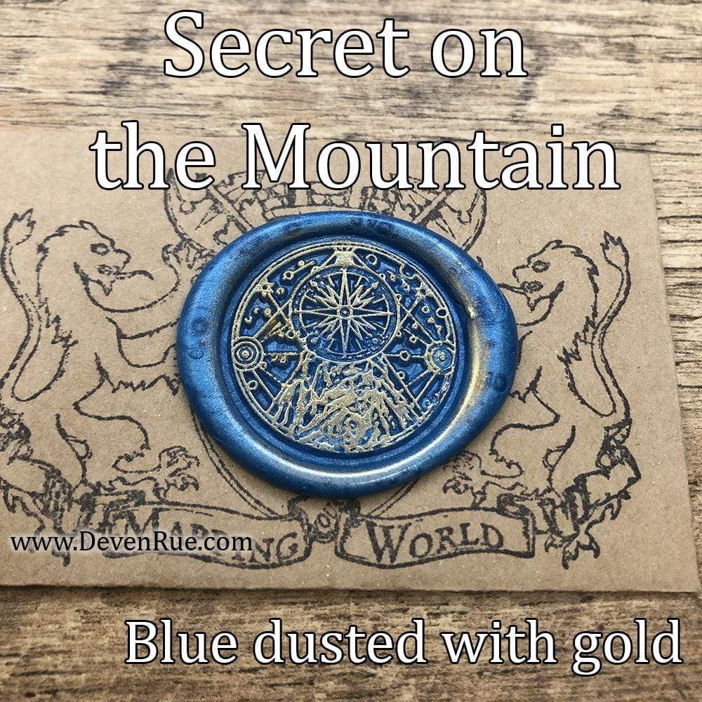 Secret on the Mountain Wax Seals Props Deven Rue