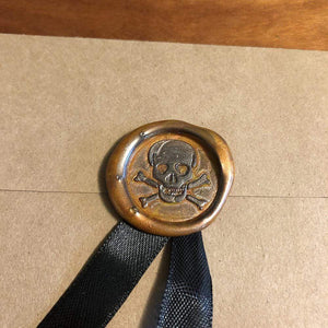 Skull & Crossed Bones Wax Seals Deven Rue