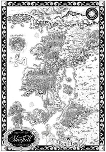 Starfall Printed Map Prop Maps With text Deven Rue