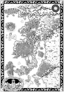 Starfall Printed Map Prop Maps Without text Deven Rue