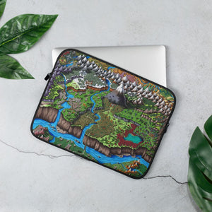 Steppes of Augrudeen Laptop Sleeve Laptop Sleeve 13 in Deven Rue