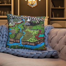 Load image into Gallery viewer, Steppes of Augrudeen Pillow Pillow Deven Rue