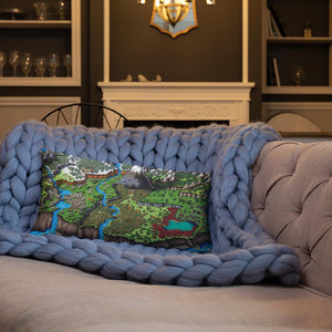 Steppes of Augrudeen Pillow Pillow 20×12 Deven Rue