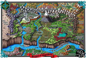Steppes of Augrudeen VTT Map Pack Map Downloads Deven Rue