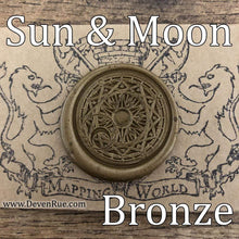 Load image into Gallery viewer, Sun & Moon Wax Seals Props Deven Rue