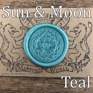 Sun & Moon Wax Seals Props Deven Rue