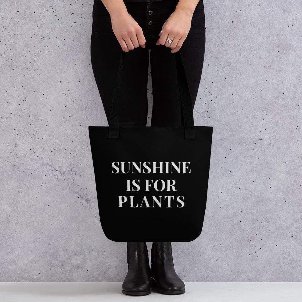Sunshine is for Plants Tote bag Deven Rue
