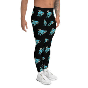 Tangled Octopus Men's Leggings Deven Rue