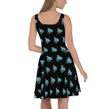 Load image into Gallery viewer, Tangled Octopus Skater Dress Deven Rue