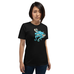 Tangled Octopus Unisex T-Shirt Shirt Deven Rue