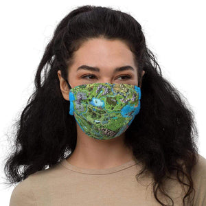 Taur'Syldor face mask Black Deven Rue