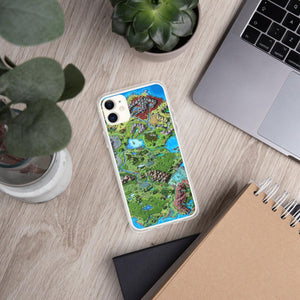 Taur'Syldor Map iPhone Case Case iPhone 11 Deven Rue