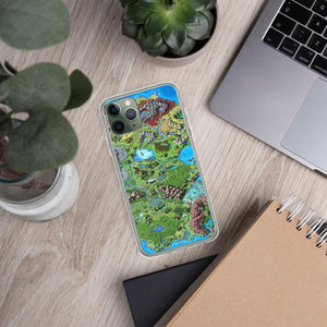 Taur'Syldor Map iPhone Case Case iPhone 11 Pro Deven Rue