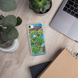 Taur'Syldor Map iPhone Case Case iPhone 7/8 Deven Rue