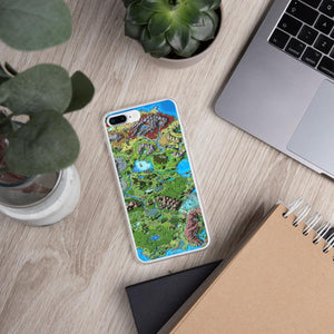Taur'Syldor Map iPhone Case Case iPhone 7 Plus/8 Plus Deven Rue