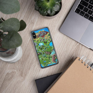 Taur'Syldor Map iPhone Case Case iPhone X/XS Deven Rue