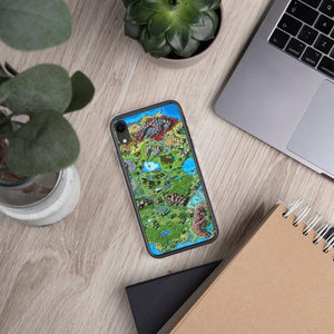 Taur'Syldor Map iPhone Case Case iPhone XR Deven Rue