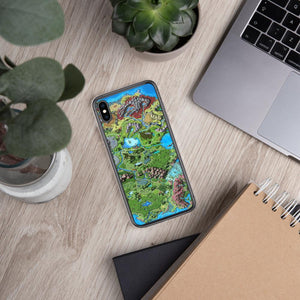 Taur'Syldor Map iPhone Case Case iPhone XS Max Deven Rue