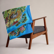 Load image into Gallery viewer, Taur'Syldor Minky Throw Blanket Blanket Deven Rue