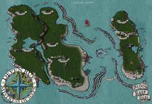 The Blood Reef Isles Map Map Downloads Deven Rue