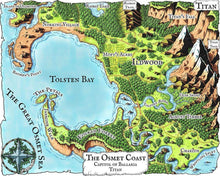 Load image into Gallery viewer, The Osmet Coast Map Pack Map Downloads Deven Rue