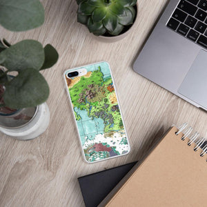 The Queen's Treasure Map iPhone Case Case iPhone 7 Plus/8 Plus Deven Rue