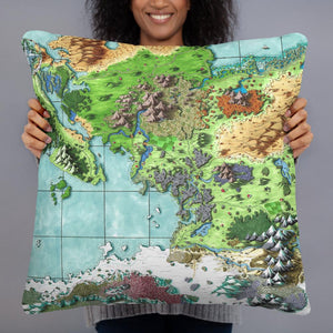 The Queen's Treasure Pillow Pillow 22×22 Deven Rue
