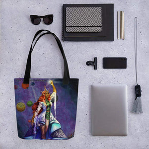 The Wandering Mistress Tote Bag Deven Rue