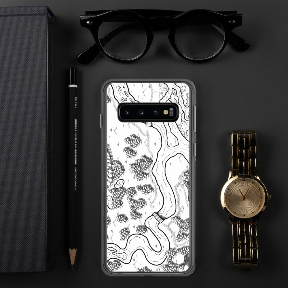 The Winding River Samsung Case Case Samsung Galaxy S10 Deven Rue