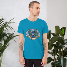 Load image into Gallery viewer, Valor Glory Honor Short-Sleeve Unisex T-Shirt Aqua / S Deven Rue