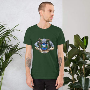 Valor Glory Honor Short-Sleeve Unisex T-Shirt Forest / S Deven Rue