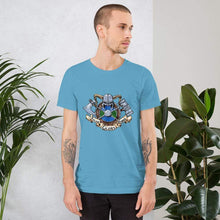 Load image into Gallery viewer, Valor Glory Honor Short-Sleeve Unisex T-Shirt Ocean Blue / S Deven Rue