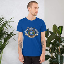 Load image into Gallery viewer, Valor Glory Honor Short-Sleeve Unisex T-Shirt True Royal / S Deven Rue