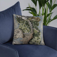 Load image into Gallery viewer, Vendras Map Pillows Deven Rue