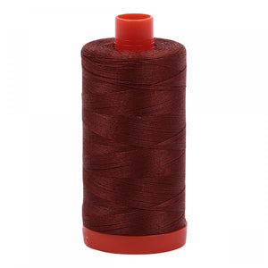 #threadAurifilKnotty Quilterbronzes and browns - aurifil- Mako 50wt 1422ydsA1050-4012copper brown6# - Knotty Quilter