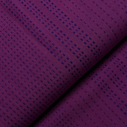 #FabricAndoverKnotty Quilterelectric shashiko- interwoven giucy giuce1/2 yard1# - Knotty Quilter