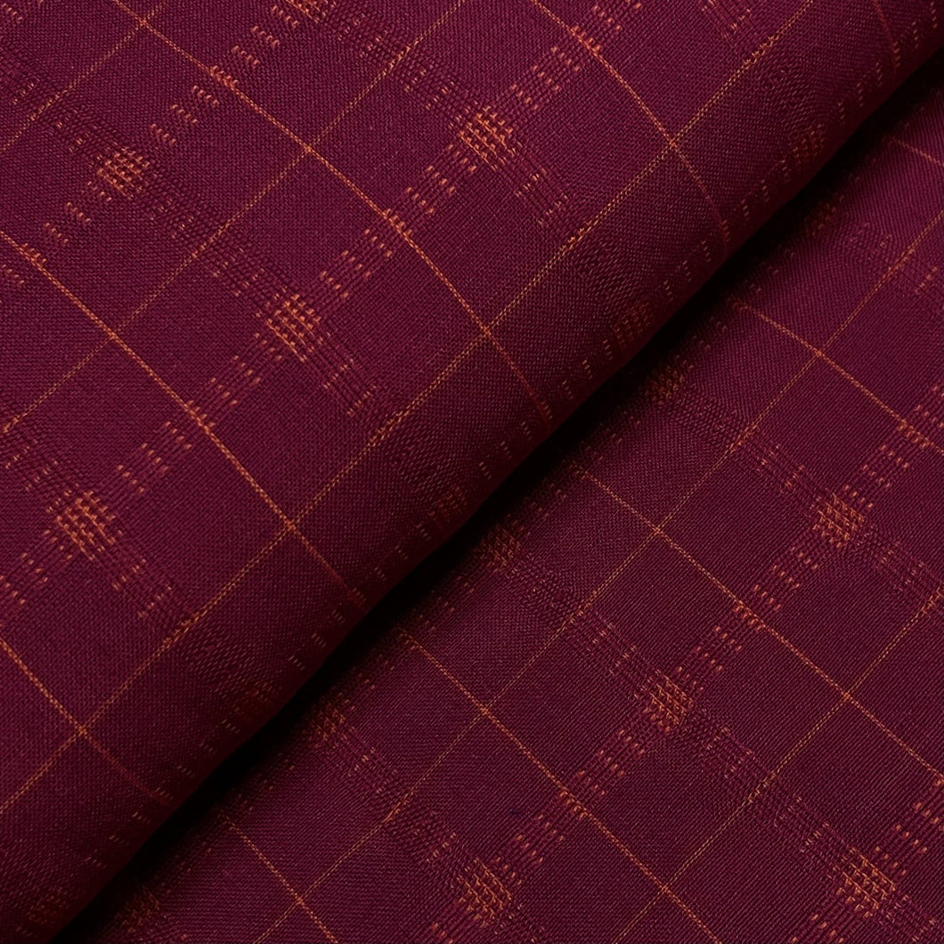#FabricAndoverKnotty Quilterpink plaid - interwoven giucy giuce1/2 yard1# - Knotty Quilter