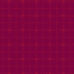 #FabricAndoverKnotty Quilterpink plaid - interwoven giucy giuce1/2 yard2# - Knotty Quilter