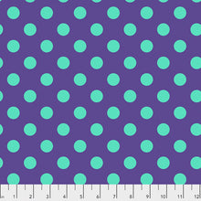 Load image into Gallery viewer, #FabricFreespiritKnotty QuilterPre-Order tula pink-true colors-peacock- fat quarterFB2FQTP.PEACOCKDefault Title8# - Knotty Quilter