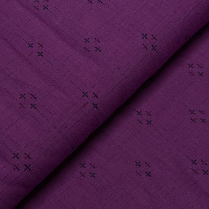 #FabricAndoverKnotty Quilterpurple plus- interwoven giucy giuce1/2 yard1# - Knotty Quilter