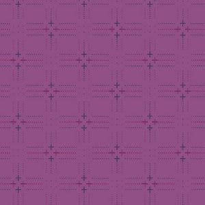 #FabricAndoverKnotty Quilterpurple plus- interwoven giucy giuce1/2 yard2# - Knotty Quilter