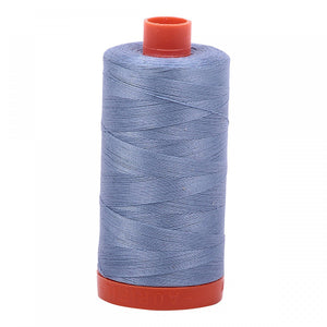 #threadAurifilKnotty Quiltershades of blue and turquoise - aurifil- Mako 50wt 1422ydsA1050-6720slate18# - Knotty Quilter