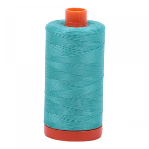 #threadAurifilKnotty Quiltershades of blue and turquoise - aurifil- Mako 50wt 1422ydsA1050-1148light jade2# - Knotty Quilter
