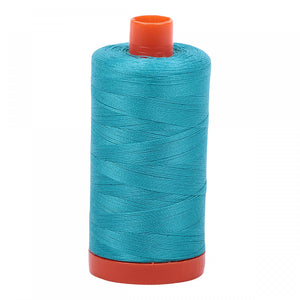 #threadAurifilKnotty Quiltershades of blue and turquoise - aurifil- Mako 50wt 1422ydsA1050-2810turquoise11# - Knotty Quilter