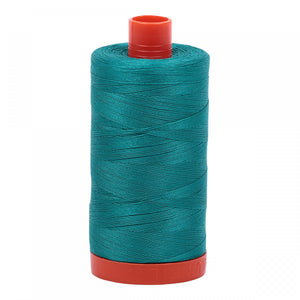 #threadAurifilKnotty Quiltershades of blue and turquoise - aurifil- Mako 50wt 1422ydsA1050-4093jade13# - Knotty Quilter