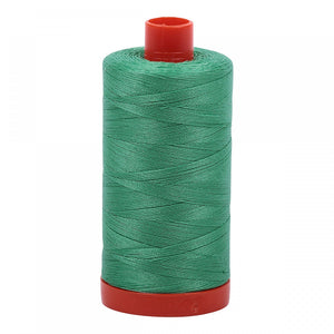 #threadAurifilKnotty Quiltershades of green - aurifil- Mako 50wt 1422ydsA1050-2860light emerald6# - Knotty Quilter