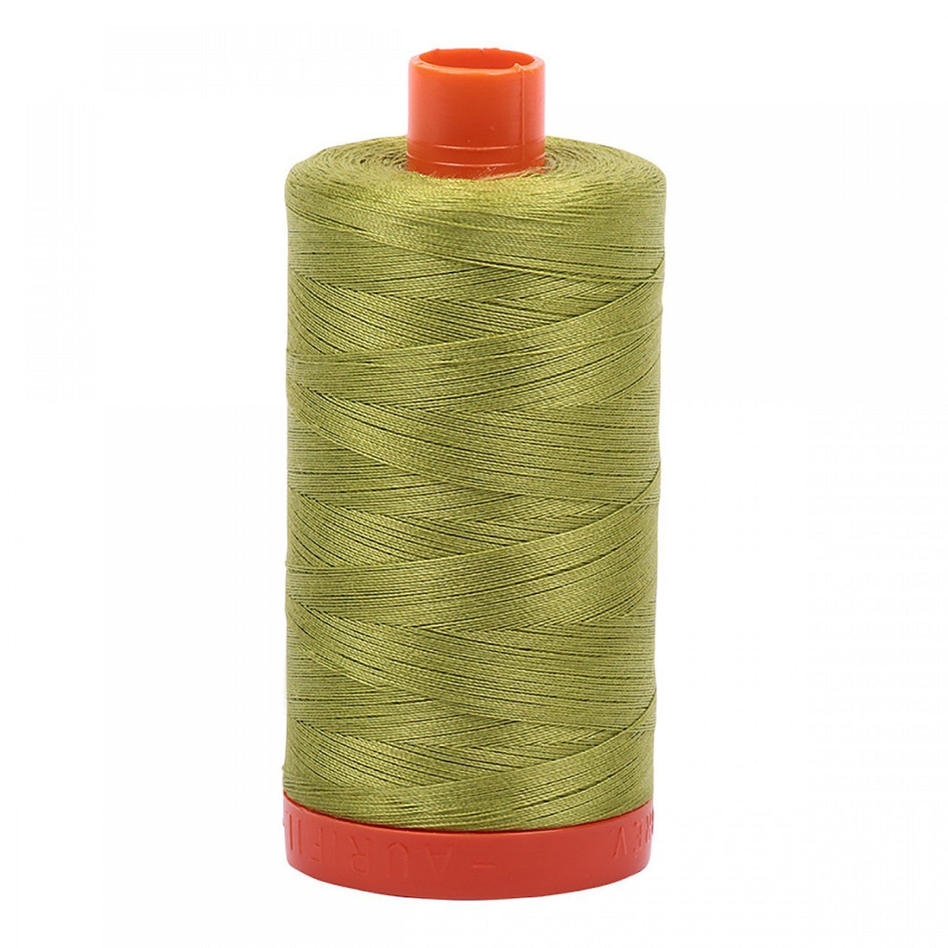 #threadAurifilKnotty Quiltershades of green - aurifil- Mako 50wt 1422ydsA1050-1147light leaf green2# - Knotty Quilter